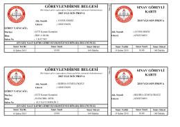 arsin - Trabzon Milli Eğitim Müdürlüğü