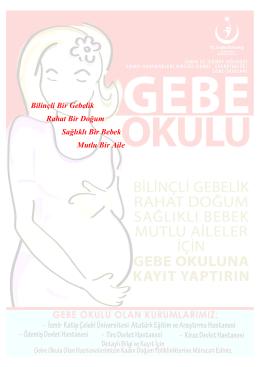 Bilinçli Bir Gebelik Rahat Bir Doğum Sağlıklı Bir Bebek Mutlu Bir Aile
