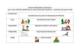 adnan menderes anaokulu 2014-2015 eğitim