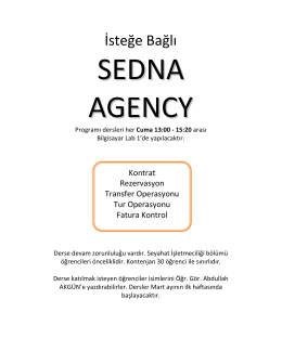 SEDNA AGENCY