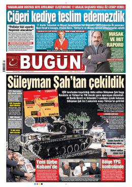 Süleyman Şah`tan çekildik