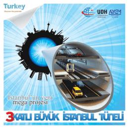 """""""3 Katlı Büyük İstanbul Tüneli"""" projesi pdf dokumanı"""