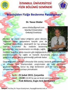 Slayt 1 - İstanbul Üniversitesi