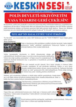 polis devleti-sıkıyönetim yasa tasarısı geri çekilsin!
