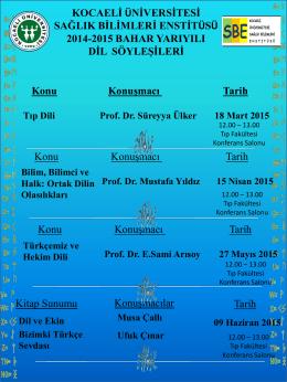 indir - Kocaeli Üniversitesi