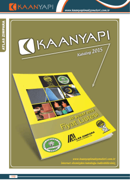 atlaszımpara-2015 - Kaan Yapı Malzemeleri