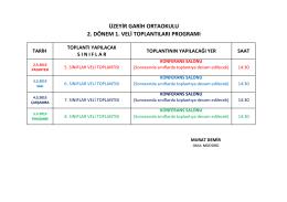 VELİ TOPLANTI PROGRAMI.xlsx