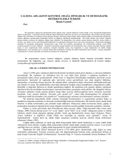 PDF Dökümanı İçin Tıklayınız