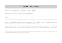 EADT Laboratuvarı