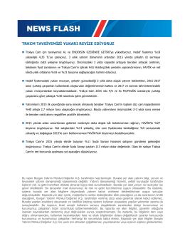 news flash - Burgan Yatırım