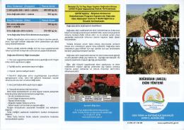 ekim yöntemi - Aydın İl Gıda Tarım ve Hayvancılık Müdürlüğü