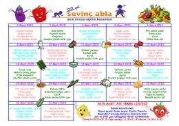 2015 mart ayı yemek listesi
