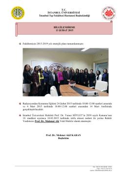 Konu: PET Çekimleri hk - İstanbul Tıp Fakültesi