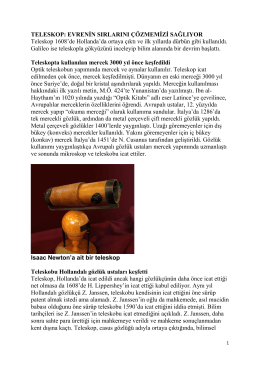 TELESKOP - Prof. Dr. Ural Akbulut