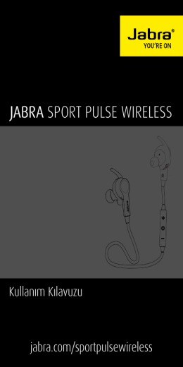 jabra sport pulse wıreless