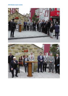 2015 İbadete Açılan Camiler