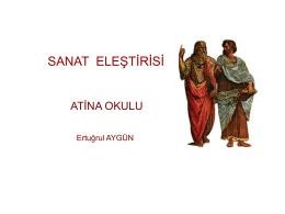 SANAT VE ELEŞTİRİ