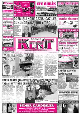20 Mart 2015 Cuma.cdr - Ödemiş Kent Gazetesi