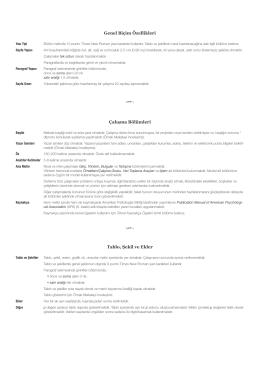 Yazım Kuralları (PDF)