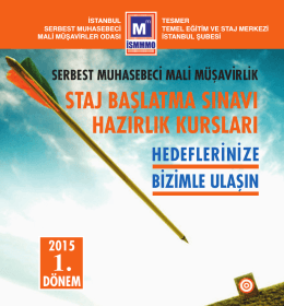 Layout 2 - İstanbul Serbest Muhasebeci Mali Müşavirler Odası