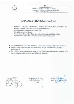 Ihaleler/KAPI YÖNÜ DEĞİŞTİRİLMESİ İŞİ TEKNİK ŞARTNAMESİ.PDF