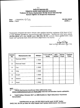 19/03/2015 tarih saat 16:00 kadar 462 341 56 54 numaralı faksa gö