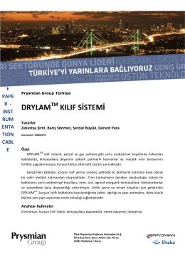 Prysmian_Drylam Kilif Sistem Teknik makale