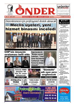 CHP`de önseçim heyecanı