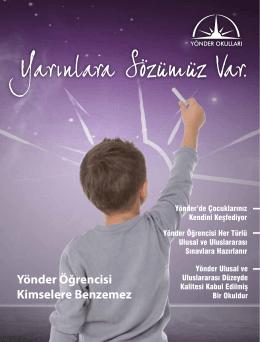Kataloğumuz - yönder okulları bahçeköy