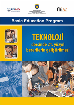 6. Sınıfta Modern Teknoloji - Kosovo Basic Education Program