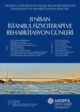 """8 NİS """"İstanbul Fizyoterapi ve Rehabilitasyon Günleri"""""""