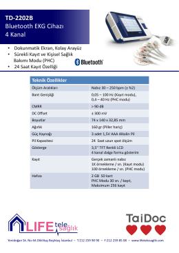 TD-2202B EKG Cihazı