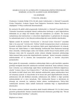Türkçe Davetiye - Arabuluculuk Daire Başkanlığı