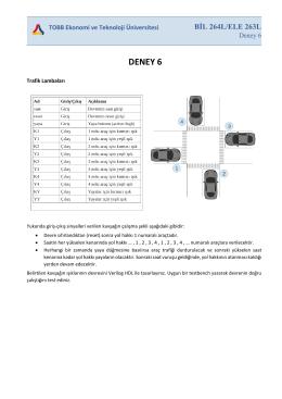 BİL264L/ELE263L Deney 6
