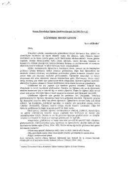 nöirinmn MorivAsYoN - Demirci İlçe Milli Eğitim Müdürlüğü