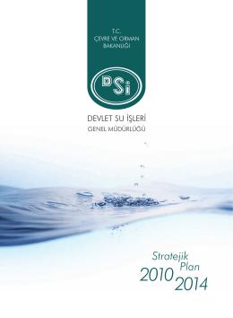 Stratejik Plan - Devlet Su İşleri Genel Müdürlüğü
