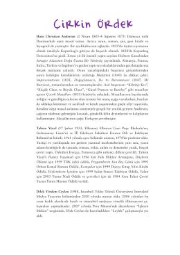 Çirkin Ördek - Yapı Kredi Kültür Sanat Yayıncılık