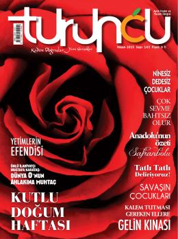 ISSN: 1304 -1517 - Turuncu Dergisi