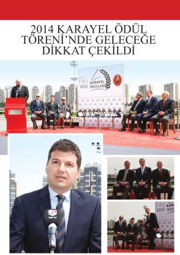 2014 karayel ödül töreni`nde geleceğe dikkat çekildi