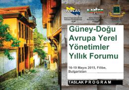 Program Filibe.pdf - Marmara Belediyeler Birliği