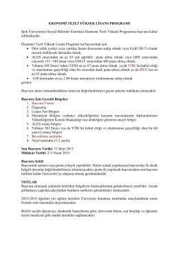 Devamı - ipek üniversitesi sosyal bilimler enstitüsü