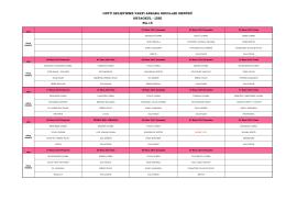 Nisan ayı Ortaokul - Lise yemek listesi için lütfen tıklayınız