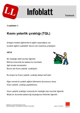 Infoblatt - Koordinationsstelle