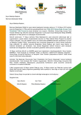 Belediye Davetiyesi.pdf - Marmara Belediyeler Birliği