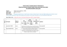 29768 - Faruk Saraç Tasarım Meslek Yüksekokulu | FarukSarac.edu.tr