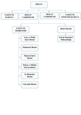Yönetim Organizasyon Şeması