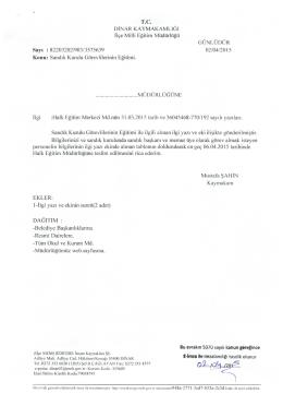İlgili yazı ve eki için tıklayınız - Dinar İlçe Milli Eğitim Müdürlüğü