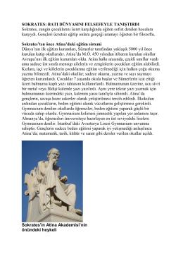 SOKRATES - Prof. Dr. Ural Akbulut