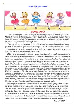 türkçe çalışma sayfası