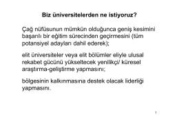 TED Üniversitesi Rektörü Prof. Dr. Öktem Vardar